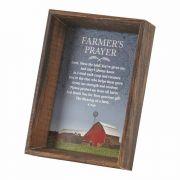 Photo Frame Tabletop Farmers Prayer Mdf V4x6