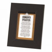 Photo Frame Tabletop Coach's Prayer Ps 4x6