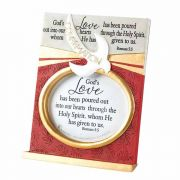 Photo Frame Tabletop Confirmation Rom.5:5 Resin - (Pack of 2)