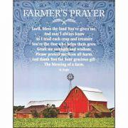 Wall Plaque House Blessing - Farmer's Prayer Mdf 8x10