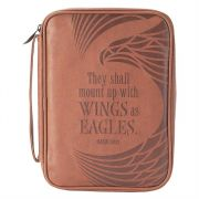 Bible Cover Thinline Vinyl Wings as Eagles