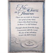 Blanket Cotton 46x68 No Tears In Heaven