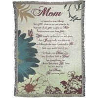 Blanket Cotton 52x68 inch Mom I've Learn So Many Things