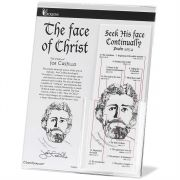 Bookmark Paper/Laminated Face of Christ Pack of 50