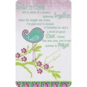 Bookmark Pocket Card Sisters In Christ Pack of 12
