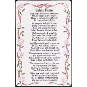 Bookmark Safely Home in Heaven Pocket card (verse) Pack of 12