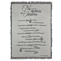 Cotton Throw Blanket 52x68 Inch No Tears In Heaven