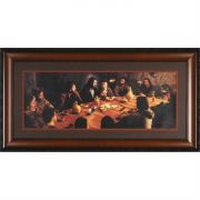 Framed Art 24 Inch X46 Inch Last Supper
