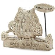 Garden Figurine 4.5 Inch Proverbs 16 Pack of 3