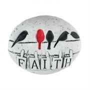 Garden/Rock Decor Birds - Faith (Pack of 3)