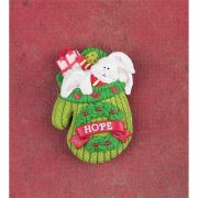 Lapel Pin Resin 2 Inch Bunny Pack of 6