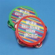 Mini Tambourine Keep Pack of 12