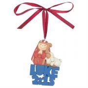 Ornament Resin Luke 2:15 Pack of 6