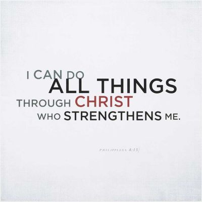Plaque I Can Do All Things Through Christ Philippians 4:13 - 603799515740 - PLK1212-1061