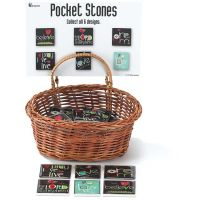 Pocket Reminder Glass Amylee Meeks (Pack of 72)
