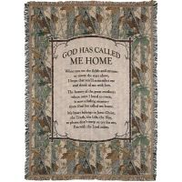 Throw Cotton 52x68 inch God Has Call Me Home