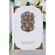 Jeweled Love Cross Bride's Bible-NIV