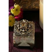 Swarovski Crystal, Faux Pearl and Butterfly Stone Ring Box