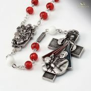 Jubilee Year of Mercy Rosary - Bohemian Glass - Ghirelli