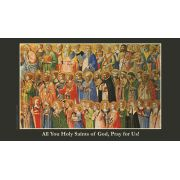 All Saints Prayer Card Wallet Size - (Pack of 50)