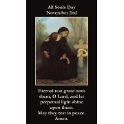 All Souls Day Prayer Card Wallet Size - (Pack of 50)
