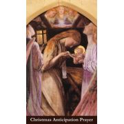 Christmas Anticipation Prayer Card Wallet Size - (Pack of 50)