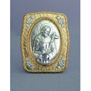 Saint Francis Medal Stand, 1.5x1.75 Inch