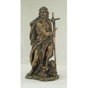 Saint John The Baptist, Cold-Cast Bronze, 9.5 Inch Statue