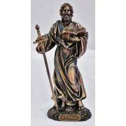 Saint Paul, Veronese, Painted Cast Bronze, 8in. Statue