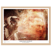 God is my Co-Pilot - Art Print by Danny Hahlbohm