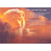 The Lion And The Lamb - Art Print by Danny Hahlbohm