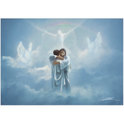 Welcome Home - Hugging Jesus - Print by Danny Hahlbohm