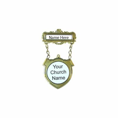 Shield Badge Magnet Custom Name - 788200908141 - 90814