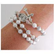 Howolite Twistable Bracelet -