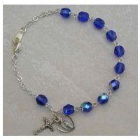 Sterling Silver Adult Zircon/December Bracelet
