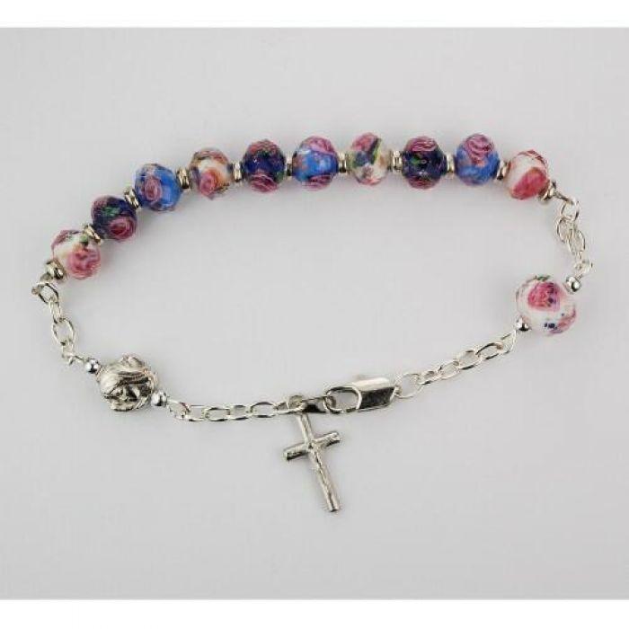 ba6ad25a3f29e Crystal Rosary Bracelet - Bracelet Photos Onneyuonsen.Com