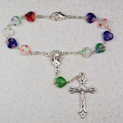 Murano Glass Auto Rosary