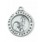 Sterling Silver Bernadette 18 inch Necklace Chain & Box