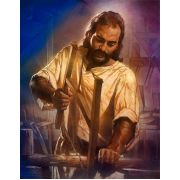 Jesus The Carpenter Christian Art Print