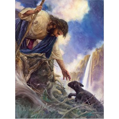 The Rescue Watercolor Giclee Christian Art Print -  - AG2028L
