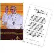 Papa Francisco Tarjeta de Oracion (Pope Francis Spanish Prayer Cards)