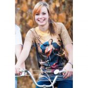 Mary Undoer of Knots All-Over Graphic Poly T-Shirt