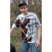 Saint Michael Graphic Poly T-Shirt