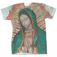 Bust of Our Lady of Guadalupe Detail T-Shirt