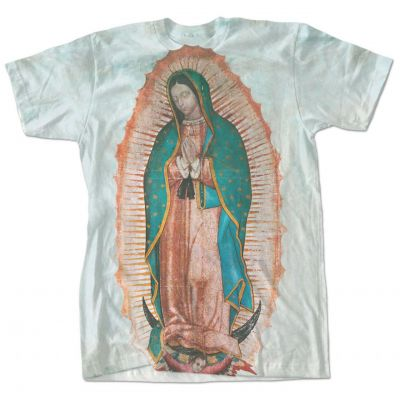 Our Lady of Guadalupe Full Color T-Shirt -  - F306