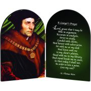 Saint Thomas More A Lawyers Prayer Arched Diptych
