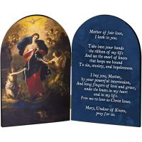 Mary Undoer of Knots General Prayer Arched Diptych