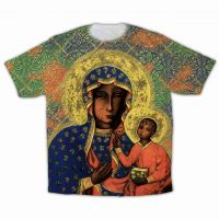Our Lady of Czestochowa Graphic Poly T-Shirt
