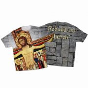 San Damiano Full Graphic Poly T-Shirt