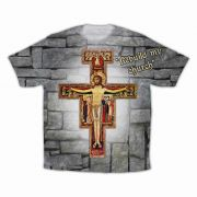 San Damiano Graphic Poly T-Shirt
